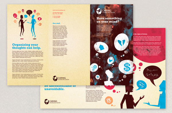 45-counseling-brochure-template